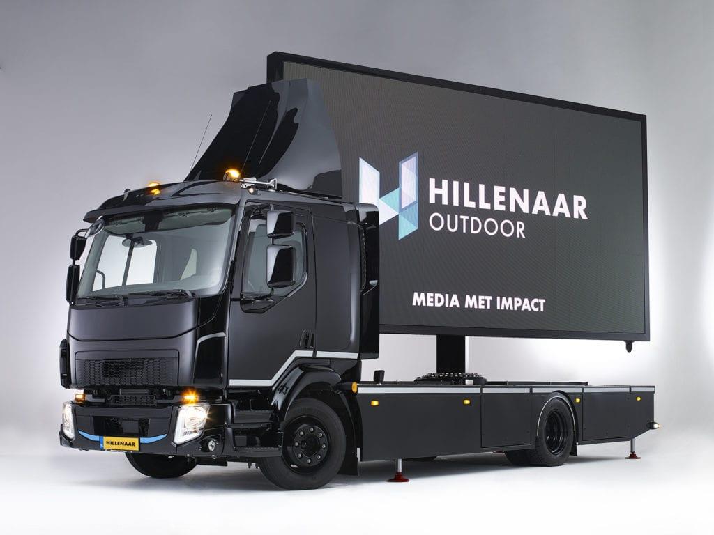 Hillenaar LED Truck met Hillenaar kenteken